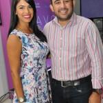 Lizbeth Santos y Milton Cordero