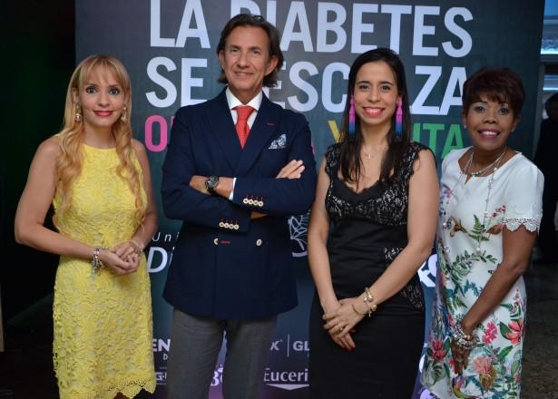 Nalini Campillo, Francisco Javier Aragón Sánchez, Patricia González y Dolores Mejía.