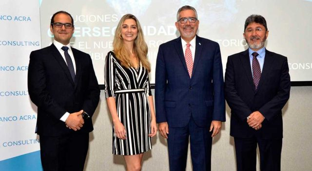 Edson Villar, Antonia Durán, Enrique Valdez y Édgar Tauta.